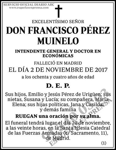 Francisco Pérez Muinelo